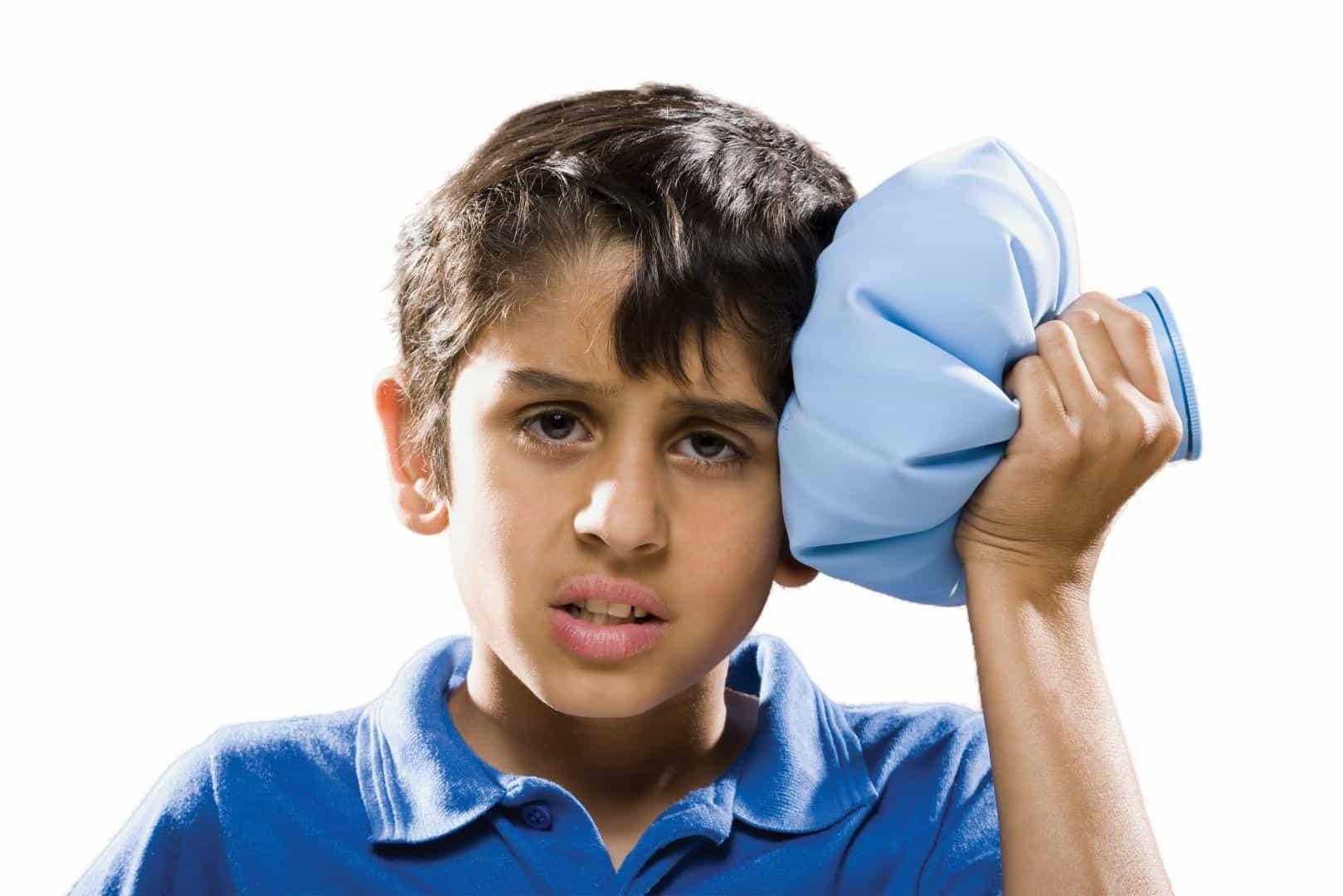 علایم سردرد شیرخواران، نوپایان و کودکان